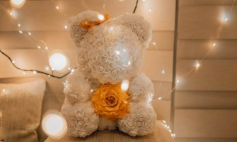 Top Gift Ideas For Her This Year - Rose Teddy Bear
