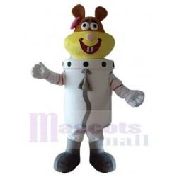 Astronaut Sandy Cheeks Squirrel Mascot Costume SpongeBob SquarePants Cartoon