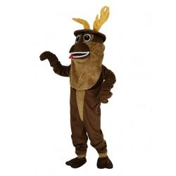 Sven Reindeer Mascot Costume from Frozen Olaf Friend Cartoon
