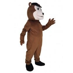 Baseball Brown Bear Mascot Costume Animal
