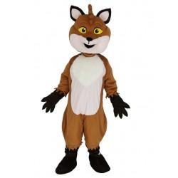 Friendly Fox Mascot Costume Animal