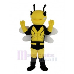Cool Hero Bee Mascot Costume Insect