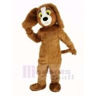 Brown Furry Dog Mascot Costume Animal