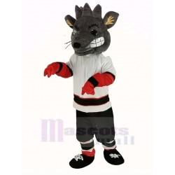 Albany River Rats Mascot Costume Ice Hockey Team