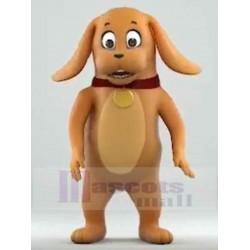 Amazing Brown Dog Mascot Costume Animal