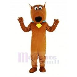 Brown Scooby Doo Dog Mascot Costume Cartoon