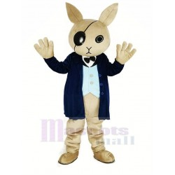 Cool Rabbit Butler Mascot Costume Animal