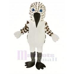 Black and White Sandpiper Bird Mascot Costume Animal