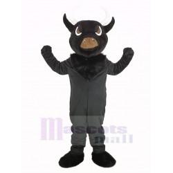 Black Bull Mascot Costume Animal