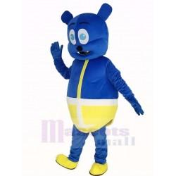 Blue Bear Monster Mascot Costume Cartoon