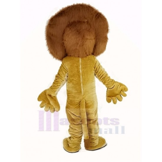 Alex The Lion Mascot Costume Animal