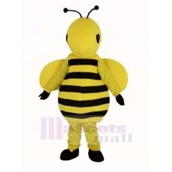 Cute Yellow Bee Mascot Costume