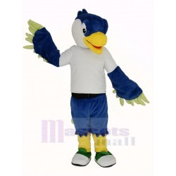 Blue Head Bird Mascot Costume Animal