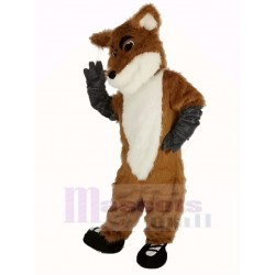 Fox Mascot Costume with Black Shoes Animal