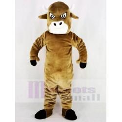 Brown Bull Mascot Costume Animal