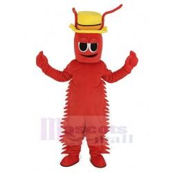 Red Conrad Crawdad Crawfish Mascot Costume