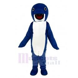 Cute Blue Whale Mascot Costume Animal