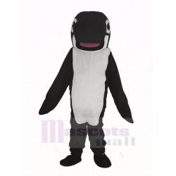 Black Whale Orca Mascot Costume
