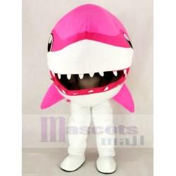 Cute Pink Whale Shark Mascot Costume