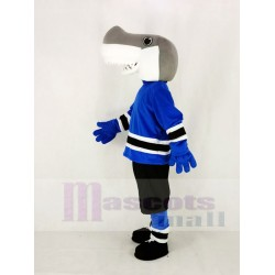 School Sharks Shark Mascot Costume with Black Sweatpants