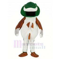 Green Bass Fish Mascot Costume