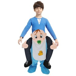 Piggy Back Carry Me Costume Baby Infant Ride on Halloween Christmas