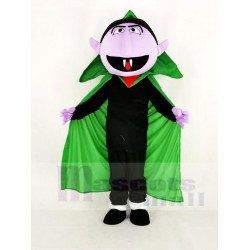 Realistic Sesame Street the Count Von Count Mascot Costume Cartoon