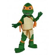 Leonardo Teenage Mutant Ninja Turtle Mascot Costume Cartoon