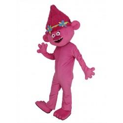 Anna Kendrick Trolls Mascot Costume Cartoon