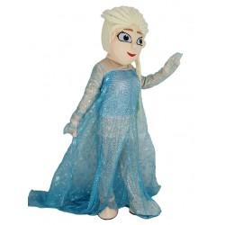 New Frozen Princess Elsa Mascot Costume Cartoon