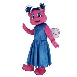 Sesame Street Abby Cadabby in Blue Dress Mascot Costume