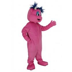 Pink Sesame Street Abby Cadabby Mascot Costume