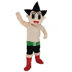 Astro Boy Mascot Costume Cartoon