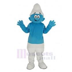 Blue Smurfs Mascot Costume Cartoon