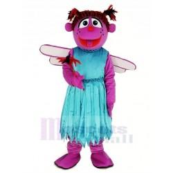 Abby Abigail Cadabby from Sesame Street Mascot Costume Cartoon