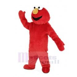 Red Haired Monster Elmo Mascot Costume Cartoon