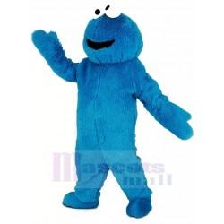 Blue Haired Monster Elmo Mascot Costume Cartoon