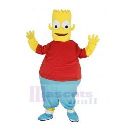 Bart Simpson Son Mascot Costume Cartoon
