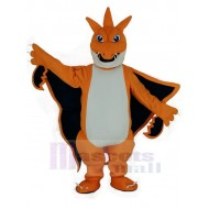 Mega Charizard X Pocket Monster Pokemon Pokémon Fire Dragon Mascot Costume Cartoon