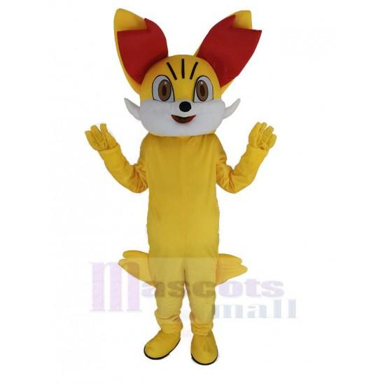Fox Fired Fennekin Pokémon Pokemon Mascot Costume