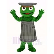 Sesame Street Oscar The Grouch Mascot Costume Cartoon