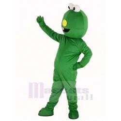 Sesame Street Green Monster Elmo Mascot Costume Cartoon