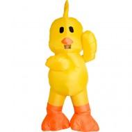 Yellow Duck Inflatable Costume Halloween Christmas for Adult