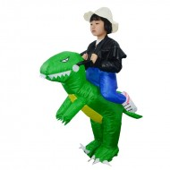 T-Rex Dinosaur Carry me Ride on Inflatable Costume Halloween Christmas for Child
