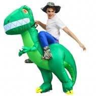 T-Rex Carry me Ride on Inflatable Costume Dinosaur with Big Teeth