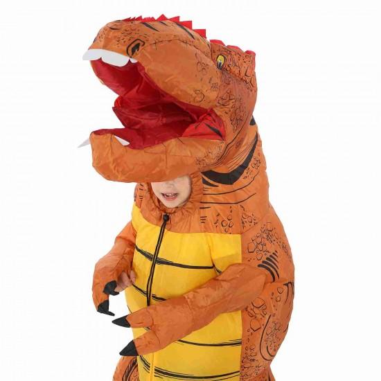 Big Head T-Rex Dinosaur Inflatable Costume Halloween Christmas