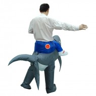 Shark Carry me Ride on Inflatable Costume Fancy Dress
