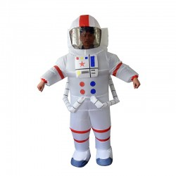 Astronaut Inflatable Costume Spaceman for Adult
