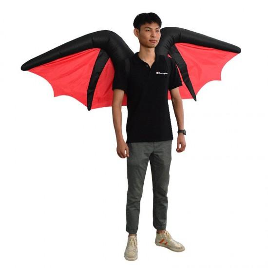 Bat Devil Demon Inflatable Costume Halloween Christmas for Adult