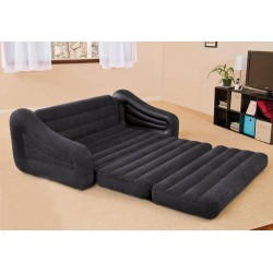 2 In 1 Inflatable Waterproof Flocked Sofa and Bed